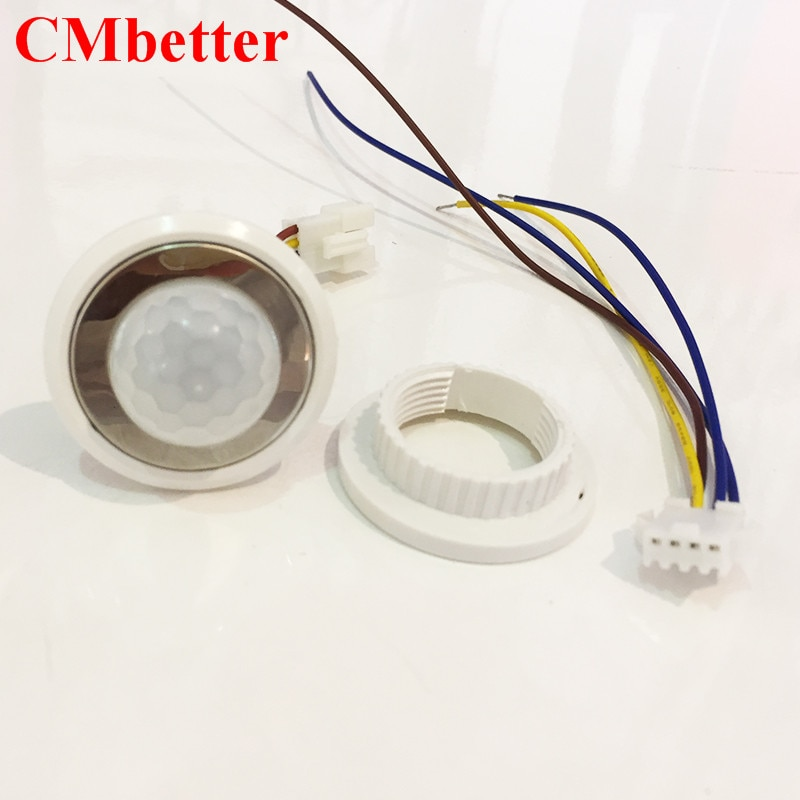 CMBetter PIR Motion Sensor Switch Turn ON OFF IR Infrared Human Body Motion Sensor Light Control Detector Module LED lamp  (3)