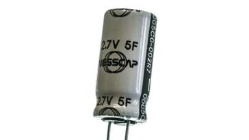 Super capacitor or supercap often used for battery hold up applications