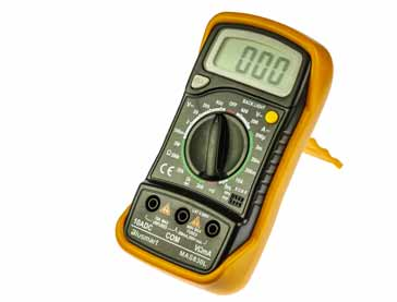 Typical low cost digital multimeter